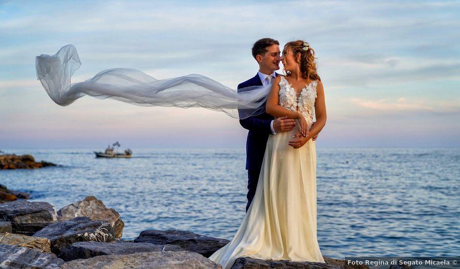 Il matrimonio di Alex e Anna a Alassio, Savona