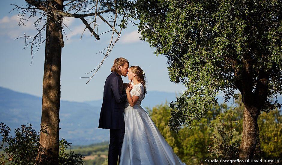 Il matrimonio di Florian e Aude a Arezzo, Arezzo