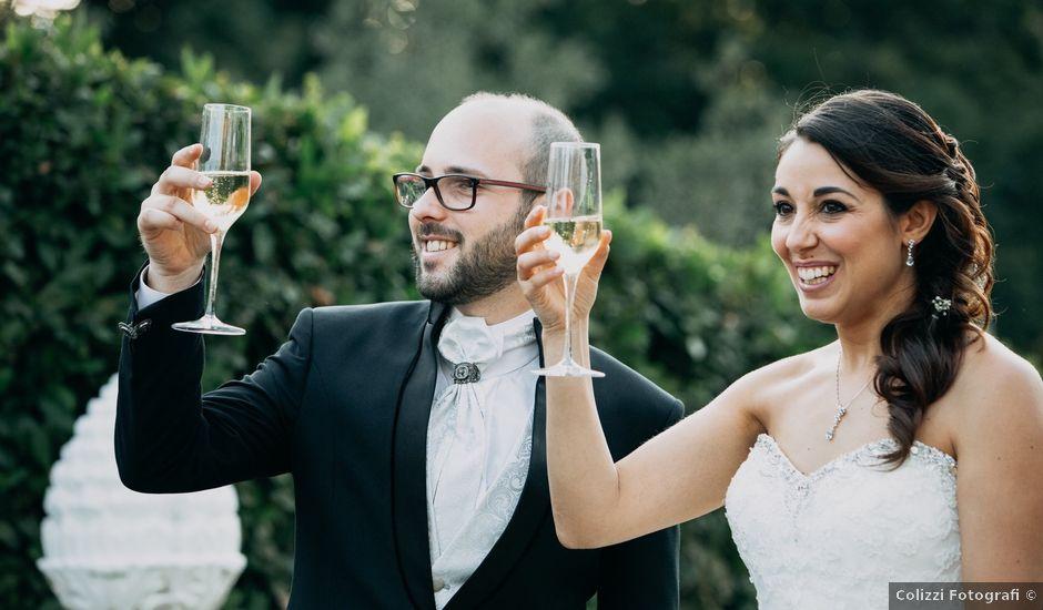 Il matrimonio di Fabio e Silvia a Grottaferrata, Roma