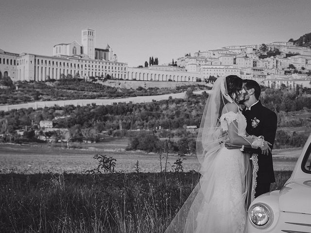 Il matrimonio di Tommaso e Ilaria a Assisi, Perugia 40
