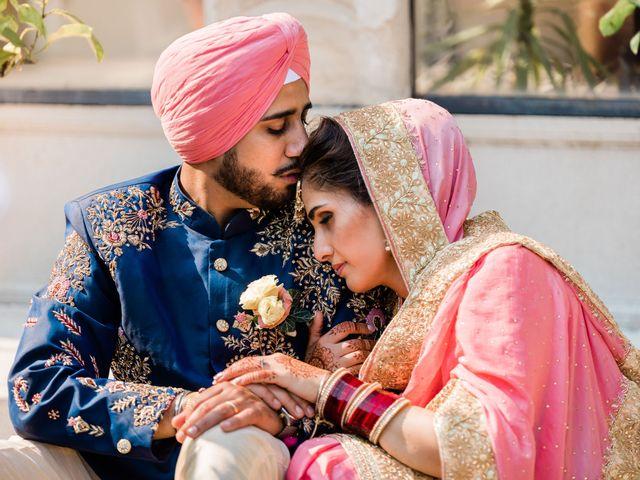 Le nozze di Harbir e Sharn
