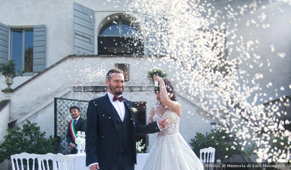 Il matrimonio di Mattia e Fitore a Bondeno, Ferrara