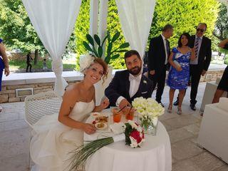 Le nozze di Serena e Gangemi
