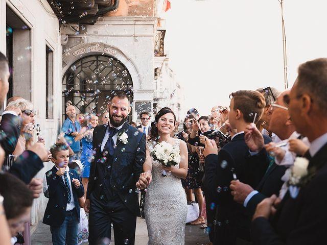 le nozze di Giorgia e Michael