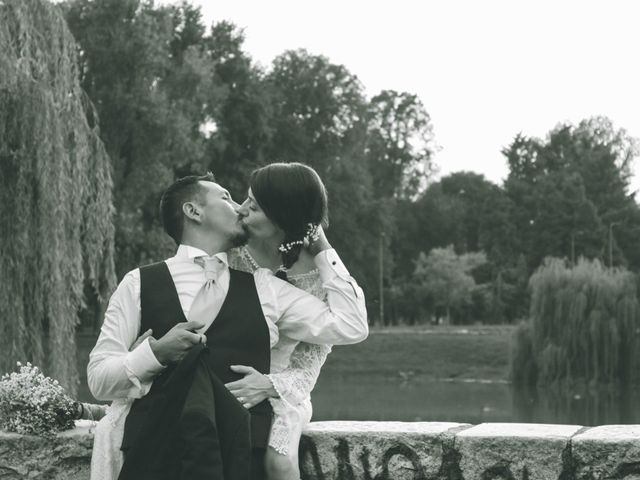 Il matrimonio di Daniel e Sabrina a Bollate, Milano 220