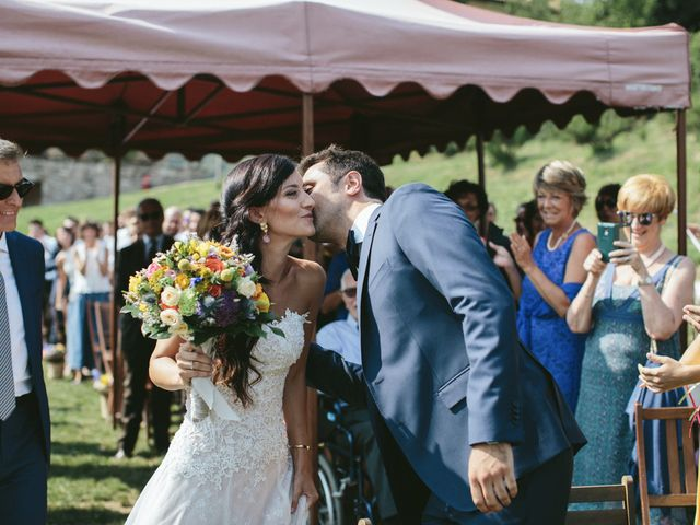 Il matrimonio di Massimo e Barbara a La Valletta Brianza, Lecco 87