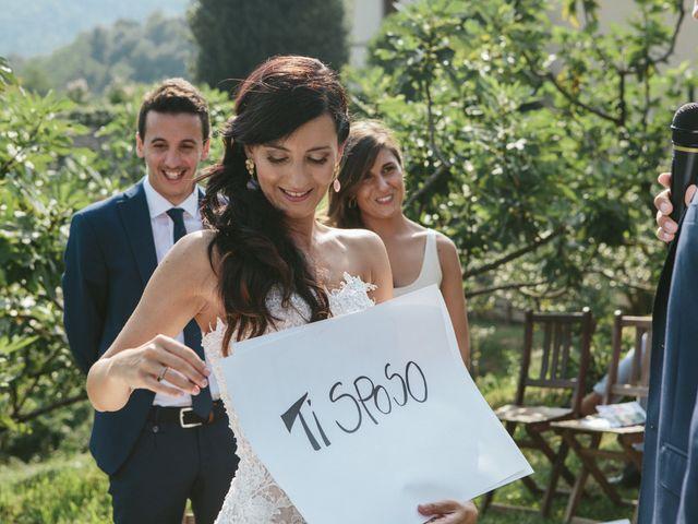 Il matrimonio di Massimo e Barbara a La Valletta Brianza, Lecco 105