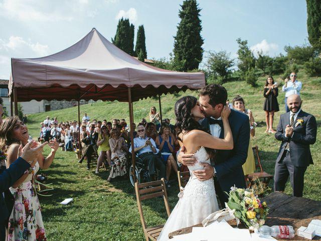 Il matrimonio di Massimo e Barbara a La Valletta Brianza, Lecco 113