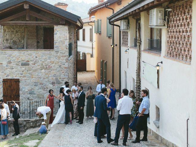 Il matrimonio di Massimo e Barbara a La Valletta Brianza, Lecco 124