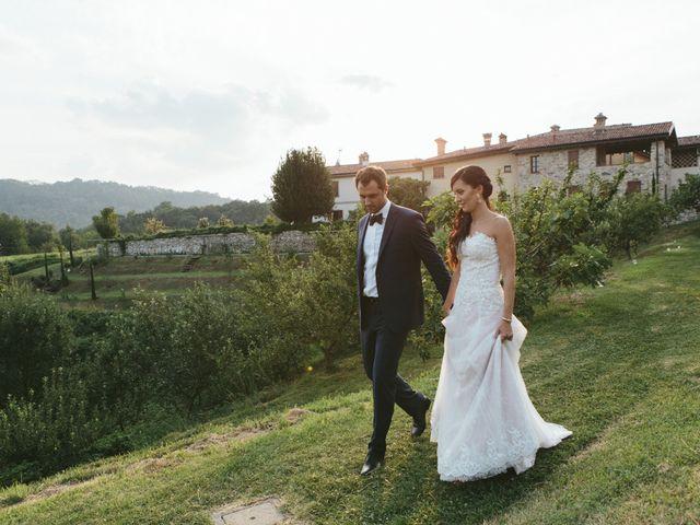 Il matrimonio di Massimo e Barbara a La Valletta Brianza, Lecco 154