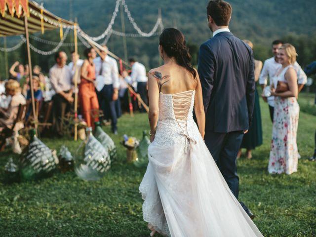 Il matrimonio di Massimo e Barbara a La Valletta Brianza, Lecco 155