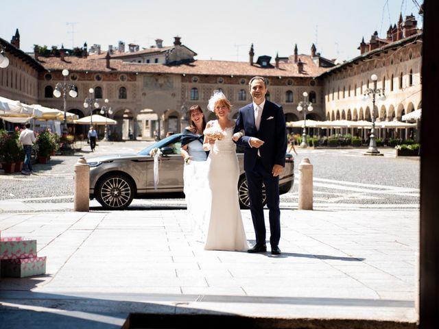 Il matrimonio di Amy e Alessandro a Vigevano, Pavia 75