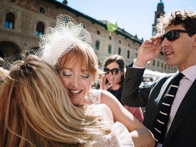 Il matrimonio di Amy e Alessandro a Vigevano, Pavia 116