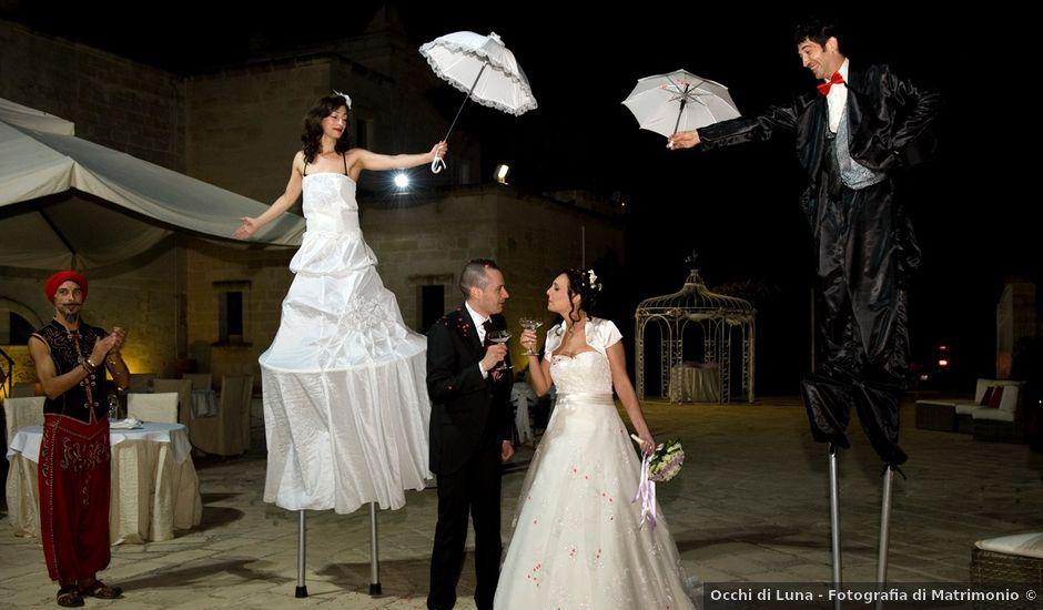 Il matrimonio di Gian Luca e Anna Lucia a Campi Salentina, Lecce