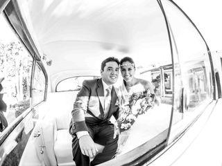 Le nozze di Vicky e Tony