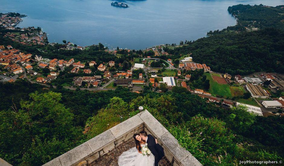 Il matrimonio di Carlo e Elena a Pella, Novara