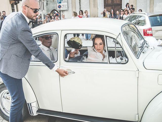 Il matrimonio di Claudio e Enrica a Rovato, Brescia 43