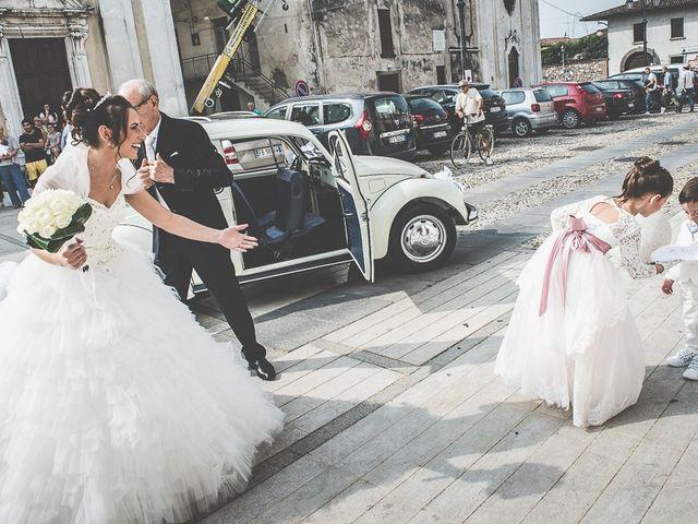 Il matrimonio di Claudio e Enrica a Rovato, Brescia 45