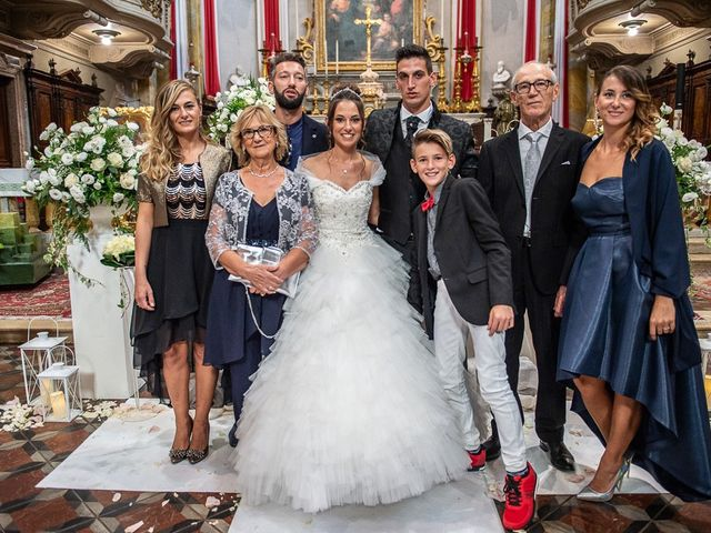 Il matrimonio di Claudio e Enrica a Rovato, Brescia 56