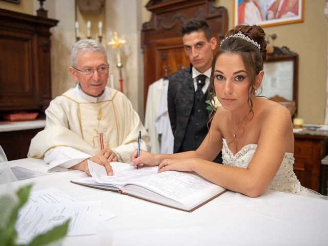 Il matrimonio di Claudio e Enrica a Rovato, Brescia 57