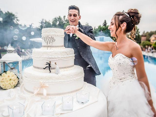 Il matrimonio di Claudio e Enrica a Rovato, Brescia 112