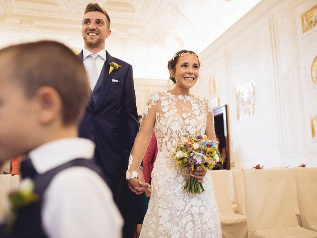 Il matrimonio di Enrico e Marzia a Roncoferraro, Mantova 38