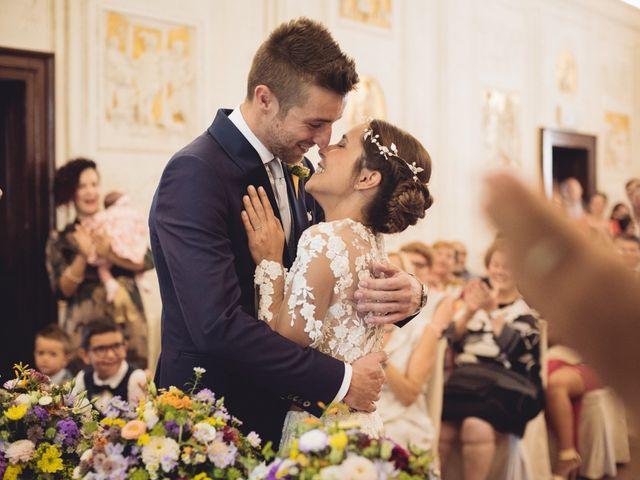 Il matrimonio di Enrico e Marzia a Roncoferraro, Mantova 41