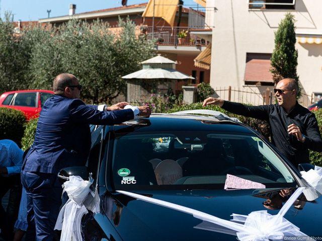 Il matrimonio di Lorenzo e Stefania a Rignano sull'Arno, Firenze 34