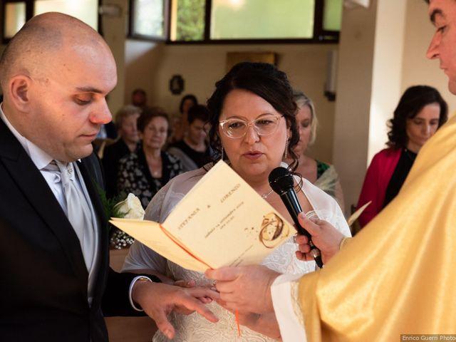 Il matrimonio di Lorenzo e Stefania a Rignano sull'Arno, Firenze 43