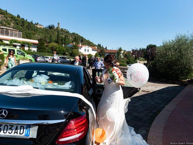 Il matrimonio di Lorenzo e Stefania a Rignano sull'Arno, Firenze 52