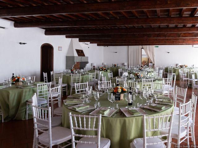 Il matrimonio di Lorenzo e Stefania a Rignano sull'Arno, Firenze 61