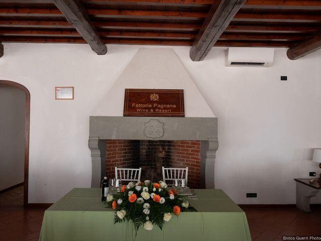 Il matrimonio di Lorenzo e Stefania a Rignano sull'Arno, Firenze 63