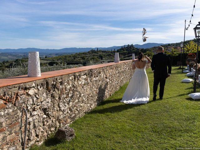 Il matrimonio di Lorenzo e Stefania a Rignano sull'Arno, Firenze 71