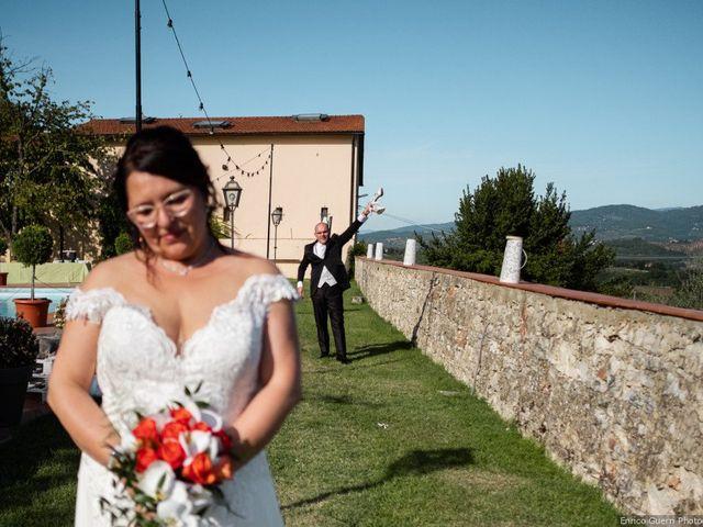 Il matrimonio di Lorenzo e Stefania a Rignano sull'Arno, Firenze 72
