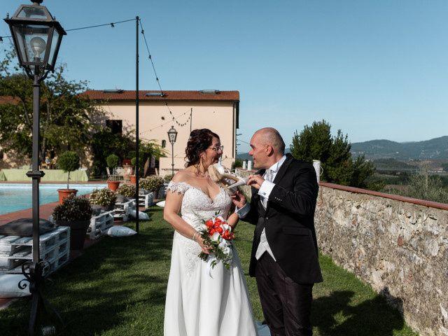 Il matrimonio di Lorenzo e Stefania a Rignano sull'Arno, Firenze 73