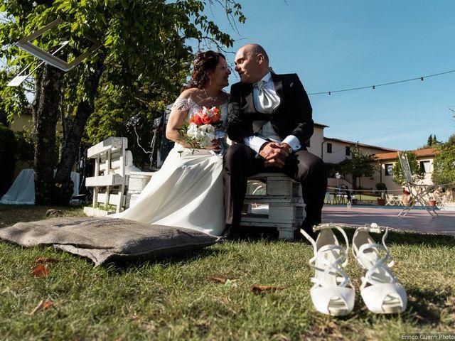Il matrimonio di Lorenzo e Stefania a Rignano sull'Arno, Firenze 2