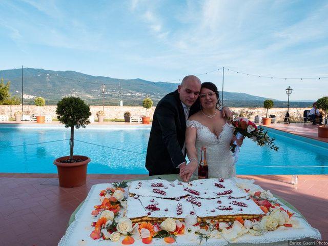 Il matrimonio di Lorenzo e Stefania a Rignano sull'Arno, Firenze 75