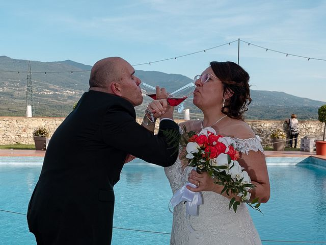 Il matrimonio di Lorenzo e Stefania a Rignano sull'Arno, Firenze 76