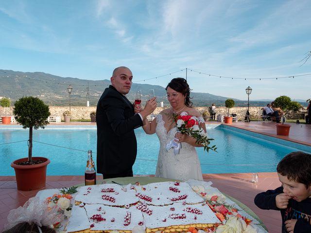 Il matrimonio di Lorenzo e Stefania a Rignano sull'Arno, Firenze 77