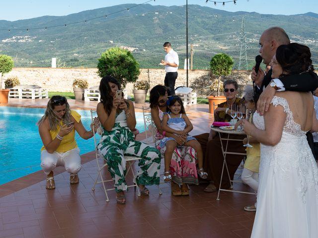 Il matrimonio di Lorenzo e Stefania a Rignano sull'Arno, Firenze 78