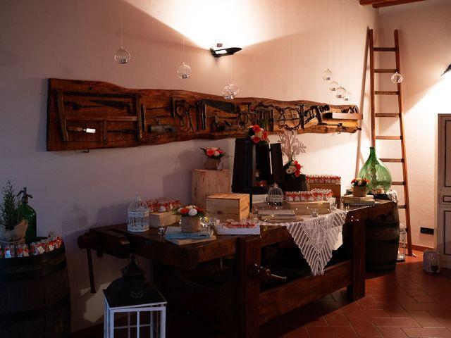 Il matrimonio di Lorenzo e Stefania a Rignano sull'Arno, Firenze 84
