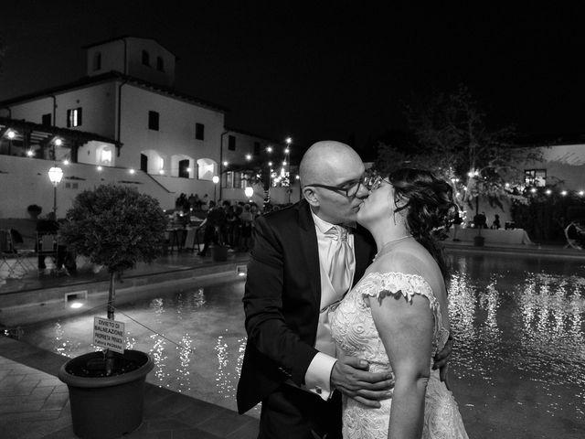 Il matrimonio di Lorenzo e Stefania a Rignano sull'Arno, Firenze 92