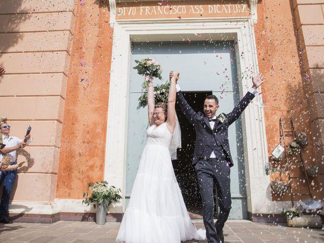 Il matrimonio di Simone e Lisa a Molinella, Bologna 42