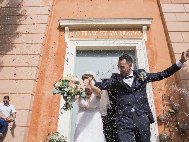 Il matrimonio di Simone e Lisa a Molinella, Bologna 43
