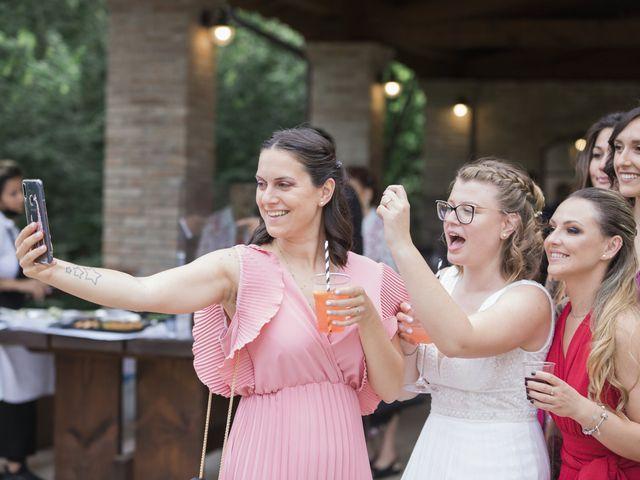 Il matrimonio di Simone e Lisa a Molinella, Bologna 55