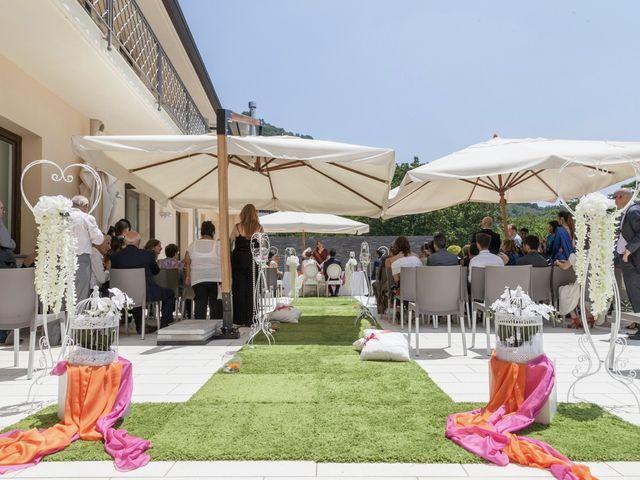 Il matrimonio di Ramanujam e Valentina a Mercato San Severino, Salerno 16