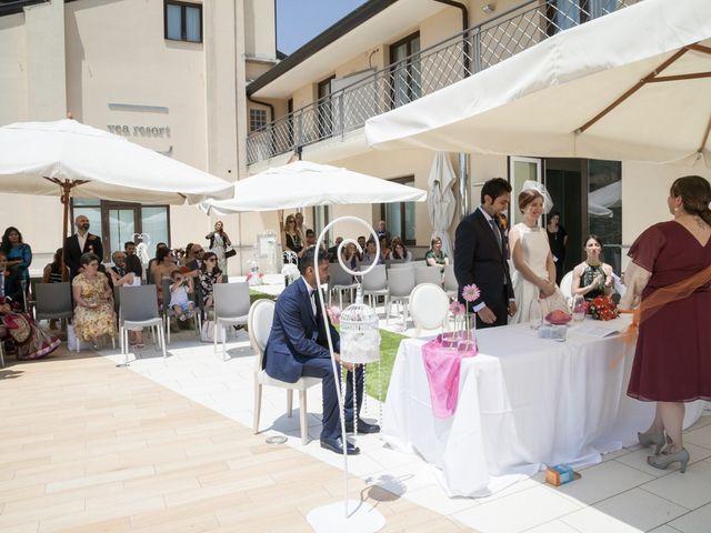 Il matrimonio di Ramanujam e Valentina a Mercato San Severino, Salerno 17