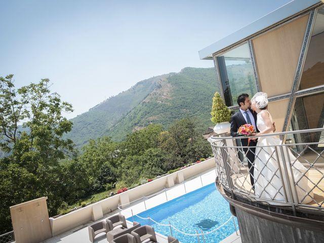 Il matrimonio di Ramanujam e Valentina a Mercato San Severino, Salerno 1