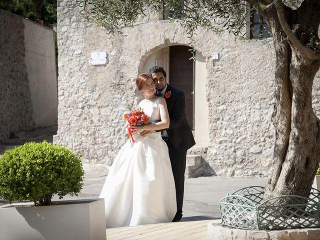 Il matrimonio di Ramanujam e Valentina a Mercato San Severino, Salerno 28