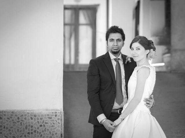 Il matrimonio di Ramanujam e Valentina a Mercato San Severino, Salerno 31